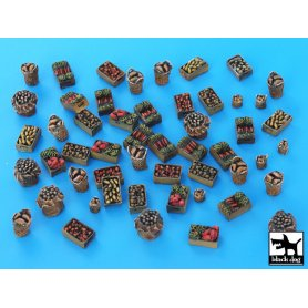 Black Dog Food supplies accessories set