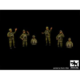 Black Dog German modern tank crew