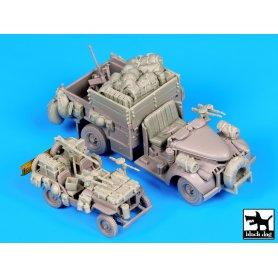 Black Dog British SAS jeep  - chevrolet SAS for Dragon