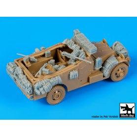 Black Dog M 3 Scout car accessories set for Italeri