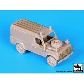 Black Dog Land Rover 110 Defender complete kit
