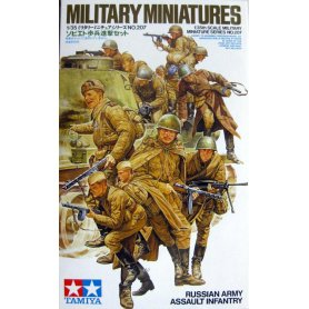 Tamiya 1:35 Russian Army Assault Infantry
