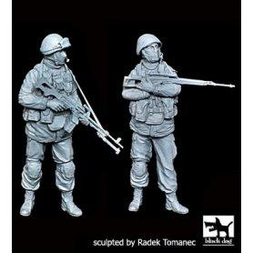 Black Dog Soldiers in Crimea  sniper plus gunner
