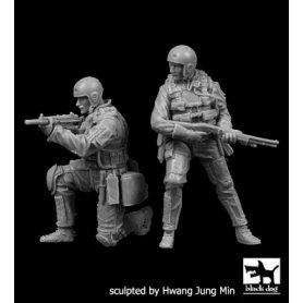 Black Dog 1:35 Zestaw Navy Seals cz.1 | 2 figurki |