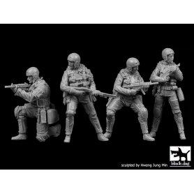 Black Dog 1:35 Zestaw Navy Seals | 4 figurki |