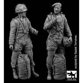 Black Dog 1:35 Zestaw brytyjskich spadochroniarzy | 2 figurki |