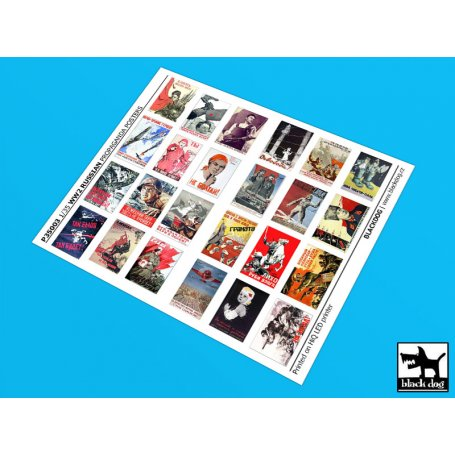 Black Dog 135 Plakaty Propagandowe Rosja Wwi 24 Sztuki Sklep Modelarski Agtom