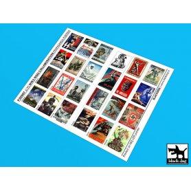 Black Dog WW II Nazi collaboration Propaganda posters (24 posters)