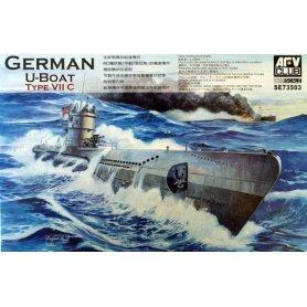 Afv Club Se73503 U- Boat Type VII/C