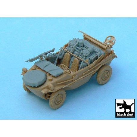Black Dog 1:48 Set of akcesoriów for Schwimmwagen / Tamiya 32506 - Sklep  Modelarski Agtom