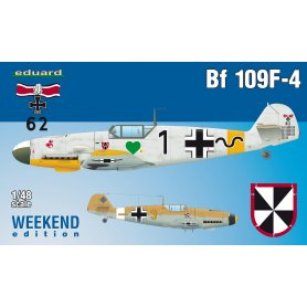 Eduard 1:48 Messerschmitt Bf-109 F-4 WEEKEND edition