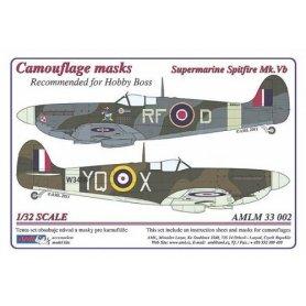 AML M33002 Maska Spitfire Mk.Vb 1/32