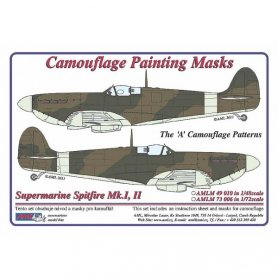 AML M73006 Maska Supermarine Spitfire Mk.I,II 1/72