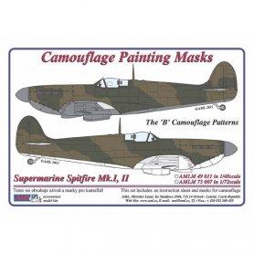 AML M73007 Maska Supermarine Spitfire Mk.I,II 1/72