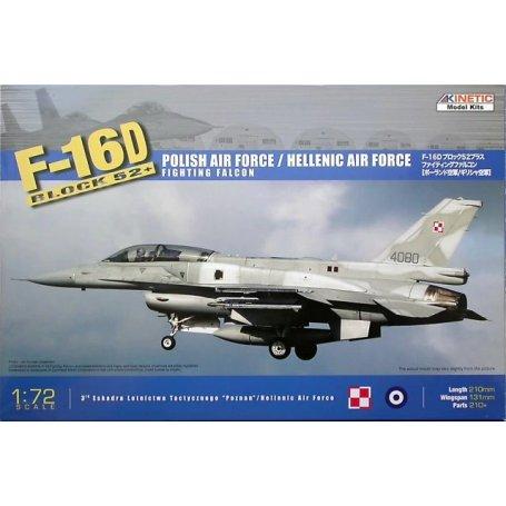 Kinetic 72002 F-16D 52 Polish