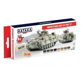 Hataka HTKAS81 Modern German AFV paint set