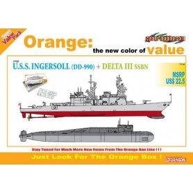 Dragon Cyber Hobby 7114 1/700 USS Ingersoll+ Delta