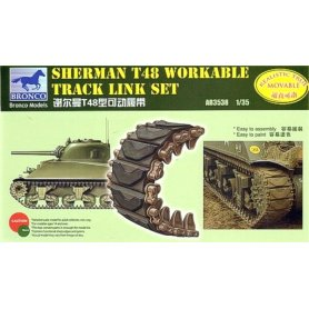Bronco Ab3538 Sherman T48 Tracks