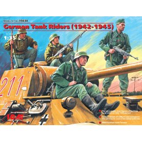 ICM 1:35 Germantank riders 1942-45