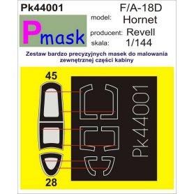PMASK Pk44001 F/A-18D - Revell 1:144