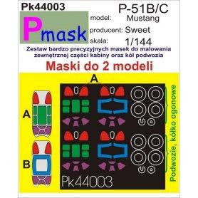 PMASK Pk44003 P-51B/C - Sweet 1:144