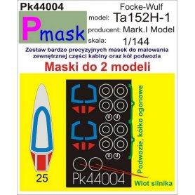 PMASK Pk44004 Ta152H - Mark.I Model 1:144