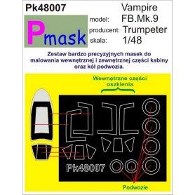 PMASK Pk48007 VAMPIRE MK9 TRUMPETER