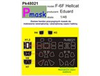 Pmask Pk48021 F6F Hellcat - Eduard