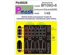 PMASK Pk48028 BF-109G - EDUARD