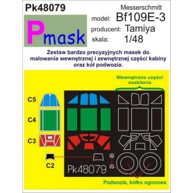 Pmask Pk48079 Messerschmidt BF109E-3