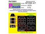 PMASK Pk72001 BF109E-4/7 AIRFIX