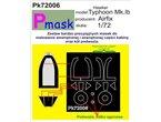 PMASK Pk72006 TYPHOON MKI AIRFIX