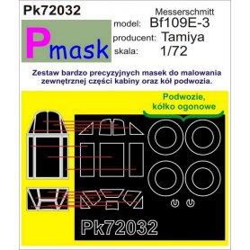 PMASK Pk72032 ME-109E-3 TAMIYA