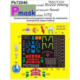 PMASK Pk72046 Blohm und Voss Bv 222 - Revell