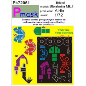 PMASK Pk72051 BLENHEIM MK.I-AIRFIX