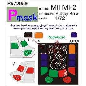 PMASK Pk72059 MI-2 - HOBBY BOSS
