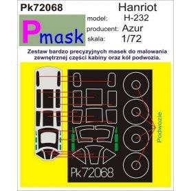 PMASK Pk72068 Hanriot H-232 - Azur