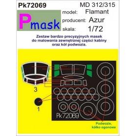 PMASK Pk72069 MD 312/315 Flamant - Azur