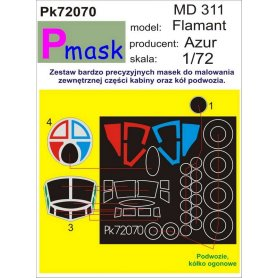 PMASK Pk72070 MD 311 Flamant - Azur