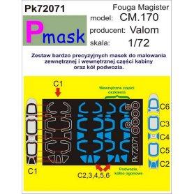 PMASK Pk72071 Fouga CM.170 Magister - Valom