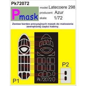PMASK Pk72072 Latecore 298 - Azur