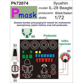 PMASK Pk72074 IŁ-28 Beagle - Bilek/Italeri