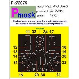 PMASK Pk72075 PZL W-3 Sokół - Ajmodel