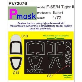 PMASK Pk72076 F-5E/N Tiger II - Italeri