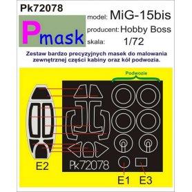 PMASK Pk72078 Mig-15 - Hobby Boss