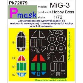 PMASK Pk72079 Mig-3 - Hobby Boss