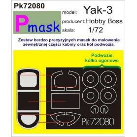 PMASK Pk72080 Yak-3 - Hobby Boss