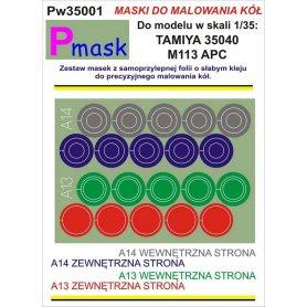 PMASK Pw35001 MASKI KOŁA T35040