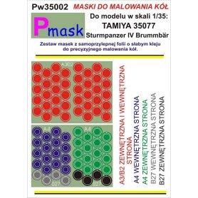 PMASK Pw35002 MASKI KOŁA T35077