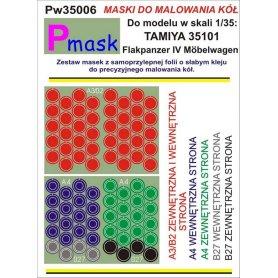 PMASK Pw35006 MASKI KOŁA T35101